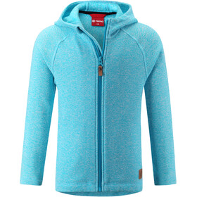 Reima Haiko Fleece Trui Jongeren, cyan blue